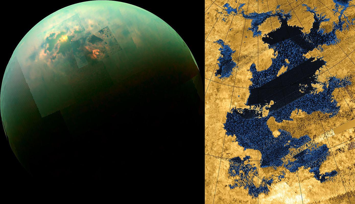 Живёт ли кракен в Море Кракена? Какие формы жизни мы могли бы найти на Титане? - 1