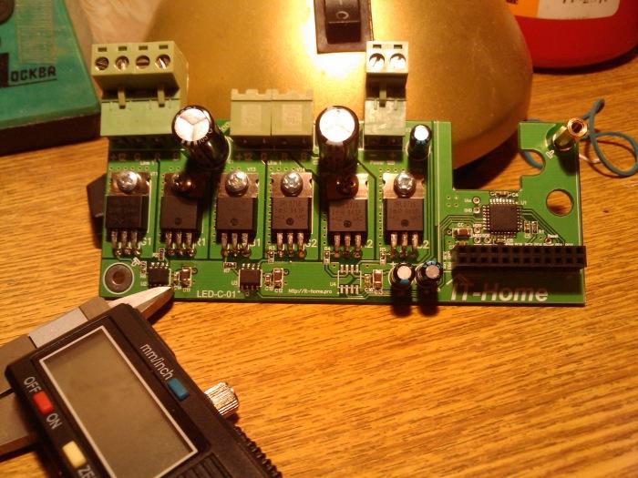 Контроллер управления светодиодными RGB-лентами LED-C-01 - 3