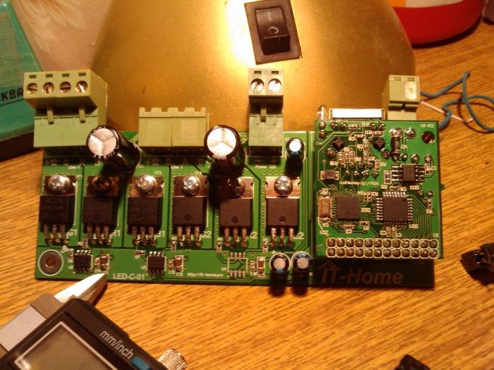 Контроллер управления светодиодными RGB-лентами LED-C-01 - 4