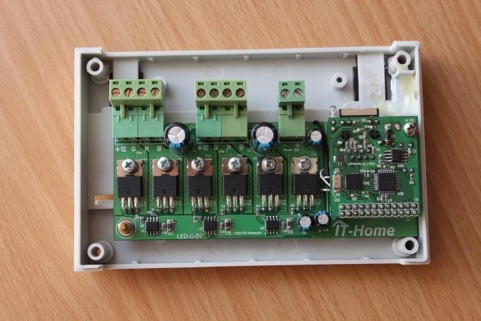 Контроллер управления светодиодными RGB-лентами LED-C-01 - 8