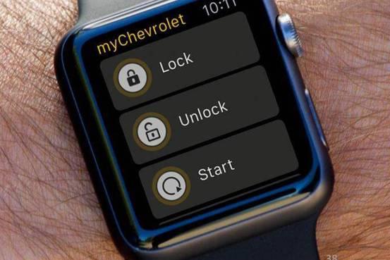 владельцы Apple Watch смогут, например, удаленно завести двигатель, управлять центральным замком и так далее