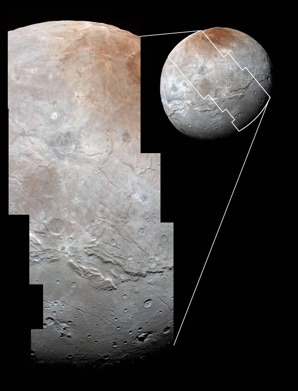 «Каньон» на Хароне, спутнике Плутона представляет собой гигантский разлом коры - 2
