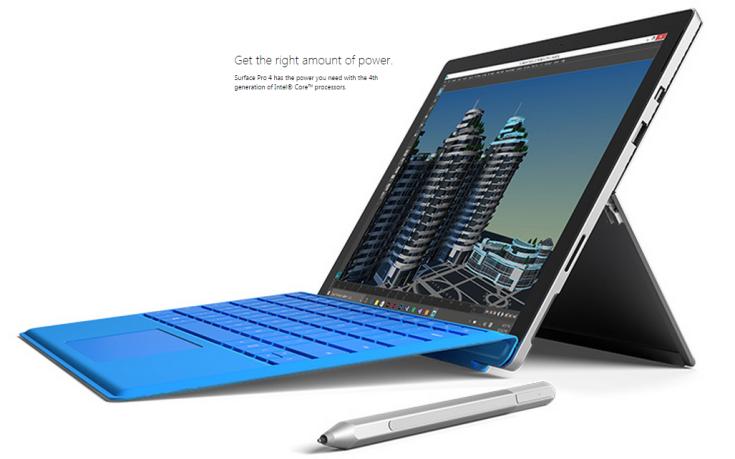Планшет Microsoft Surface Pro 4 оценили в $900