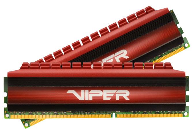 Продажи наборов модулей памяти Patriot Viper 4 DDR4-3600 уже начались по рекомендованной цене $170