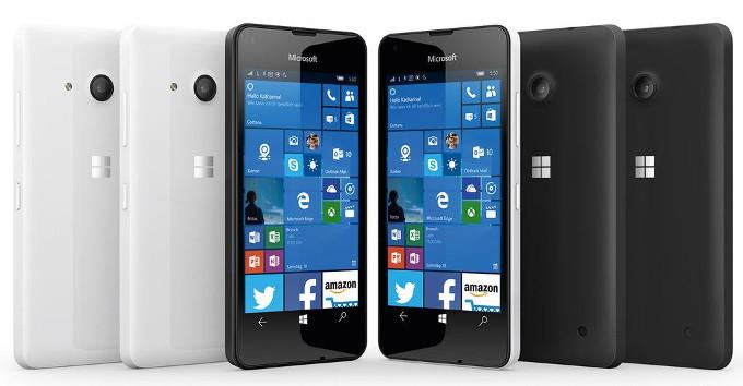 Смартфон Microsoft Lumia 550 получил 1 ГБ ОЗУ