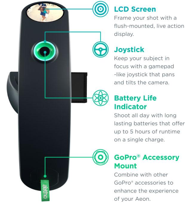 Aetho Aeon — стабилизатор для камеры GoPro - 2