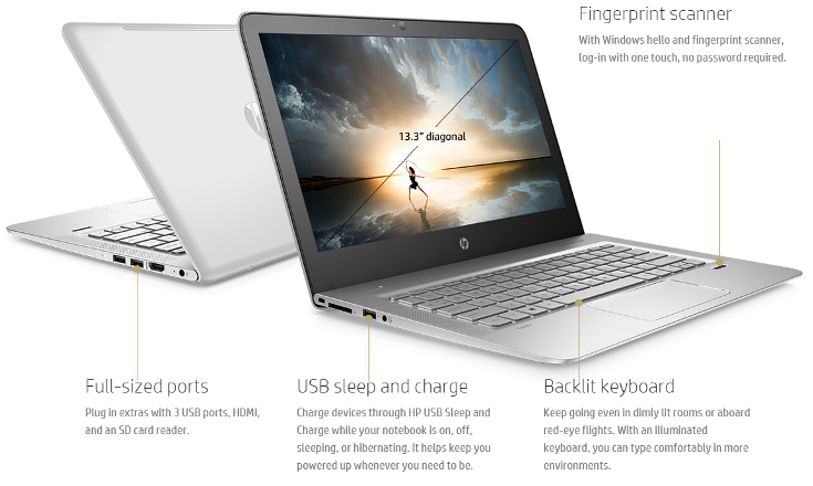 Устройства HP Spectre x360, Spectre x2 и Envy notebook основаны на CPU Intel Skylake