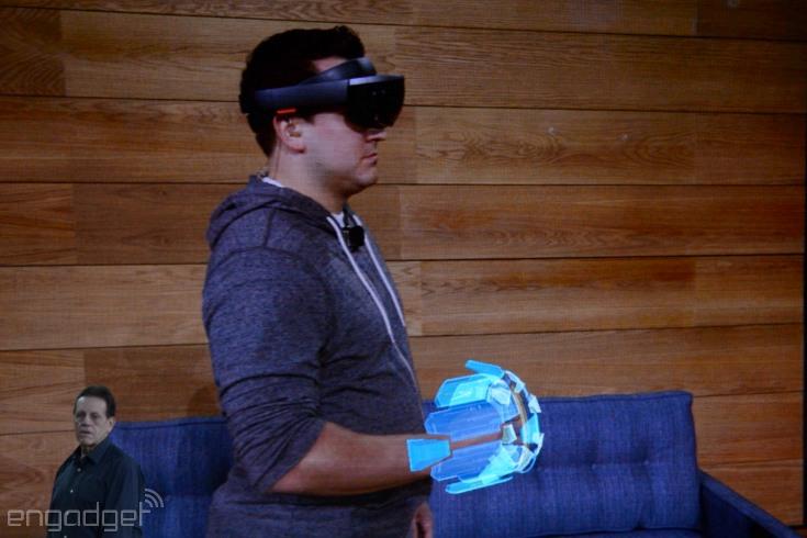 Шлемы Microsoft HoloLens обойдутся разработчикам в 3000 долларов