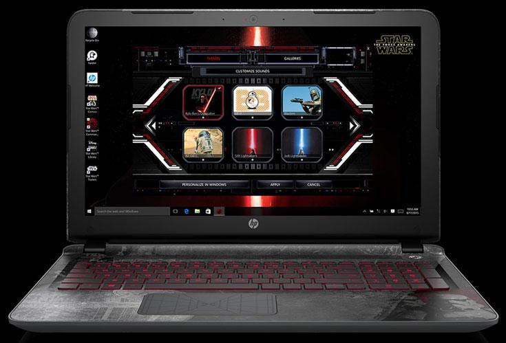 В США продажи ноутбуков Star Wars Special Edition начнутся 8 ноября