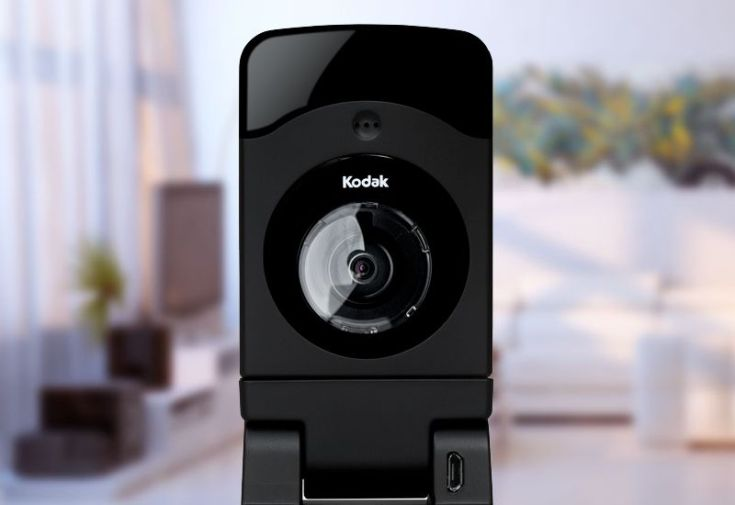 Камера наблюдения Kodak CFH-V20 пишет видео в формате 720p