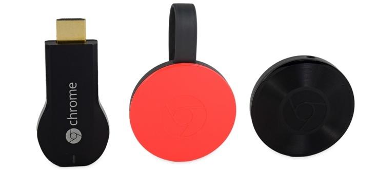 Устройства Google Chromecast и Chromecast Audio очень похожи внутри