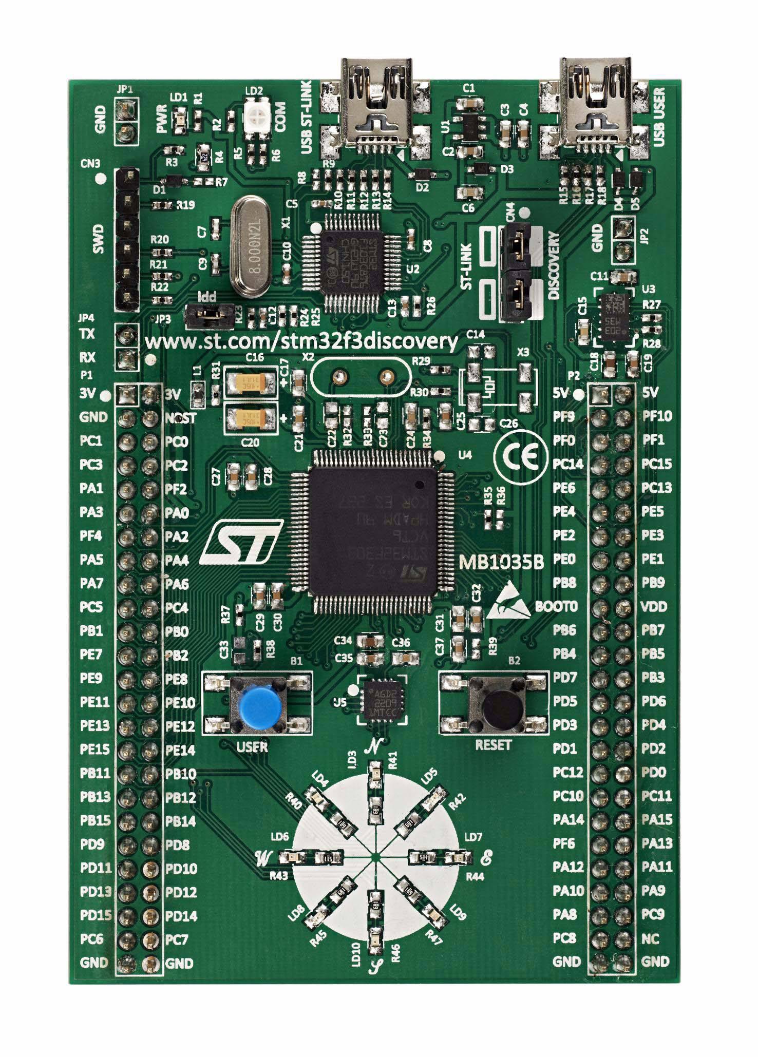 Подключаем авиамодельный пульт к компьютеру с помощью STM32 CubeMX, или PPM-to-USB адаптер на STM32F3-Discovery - 4
