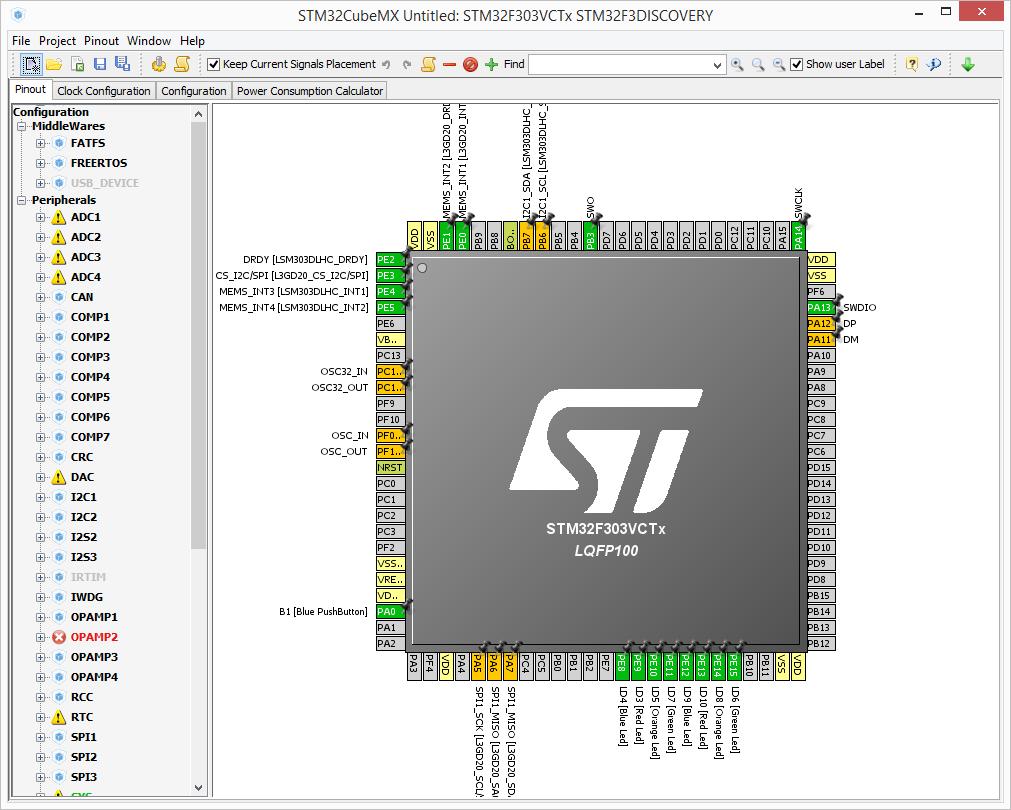 Подключаем авиамодельный пульт к компьютеру с помощью STM32 CubeMX, или PPM-to-USB адаптер на STM32F3-Discovery - 6