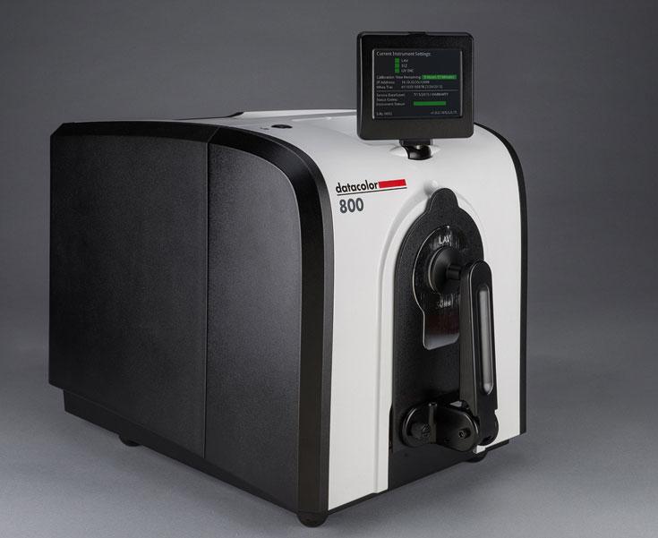 Новое поколение спектрофотометров Datacolor разбито на серии Datacolor 800 и Datacolor 500