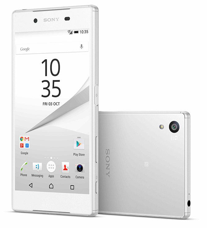 Смартфоны Sony Xperia Z5 и Xperia Z5 Compact