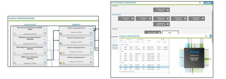 Atmel выпускает версию нового поколения среды разработки Studio 7 и анонсирует веб-платформу Atmel START — инструмент конфигурации прикладного ПО и генерации программного кода - 3