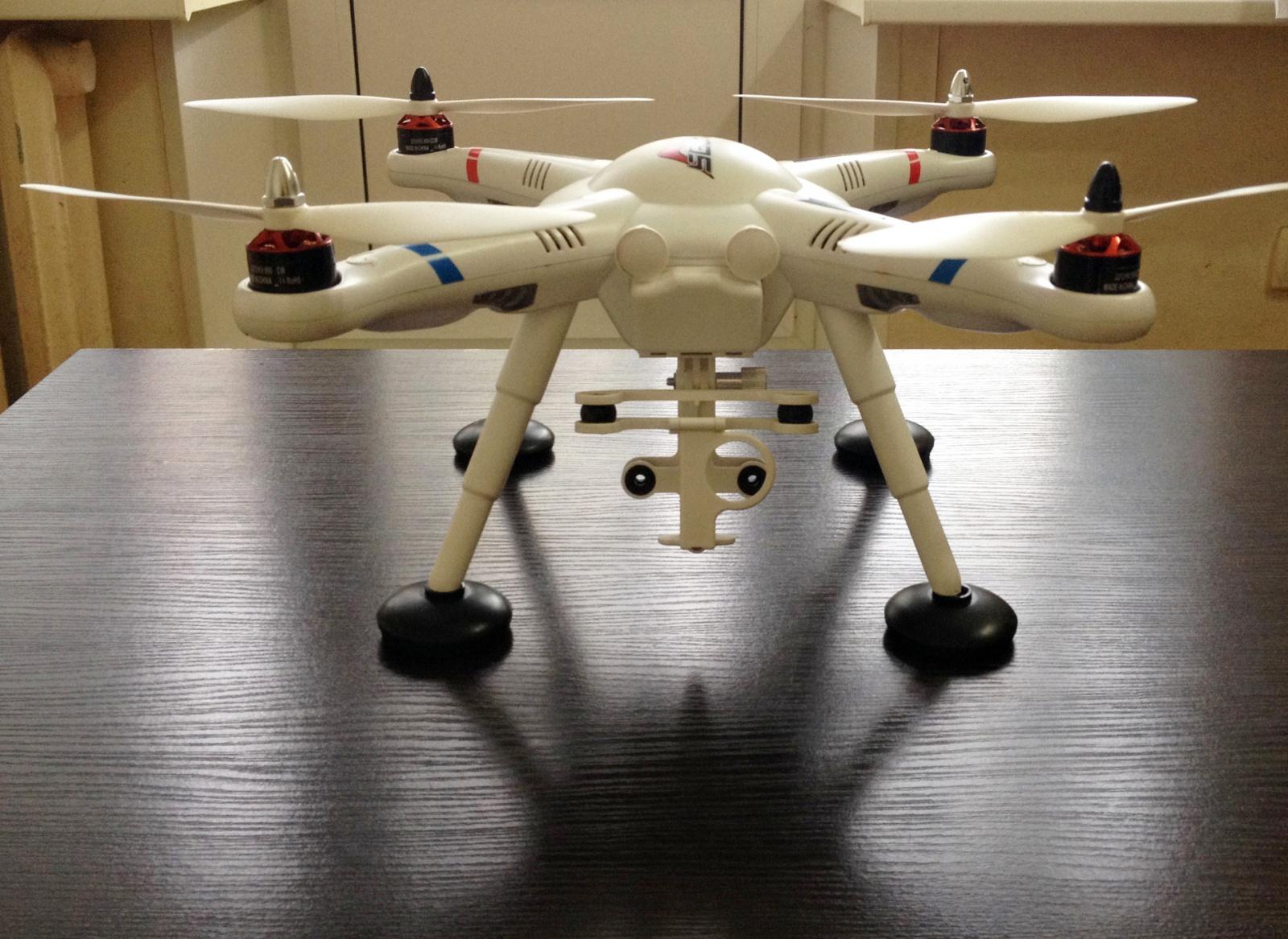 Квадрокоптер для GoPro глазами девушки — Wltoys v303 - 5