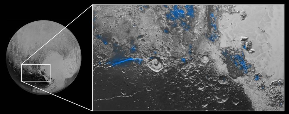 На Плутоне обнаружили водяной лед и голубое «небо» - 2