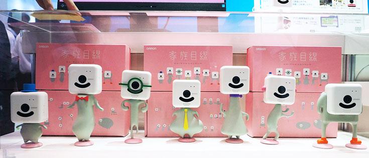 Family Eye может похвастать фирменной технологией OKAO Vision