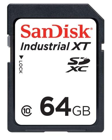 Карты памяти и накопители SanDisk Industrial предназначены для применения в промышленной электронике, включая интернет вещей
