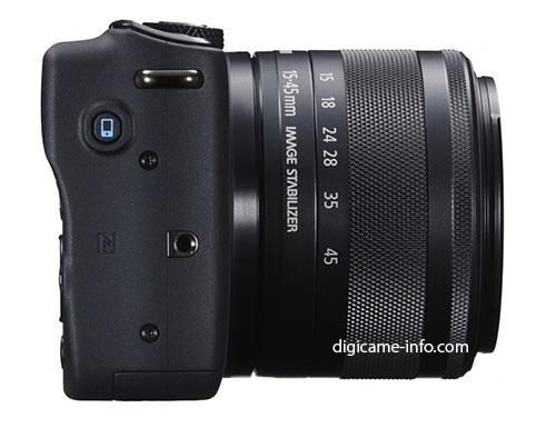 Появились основные спецификации и новые изображения камеры Canon EOS M10