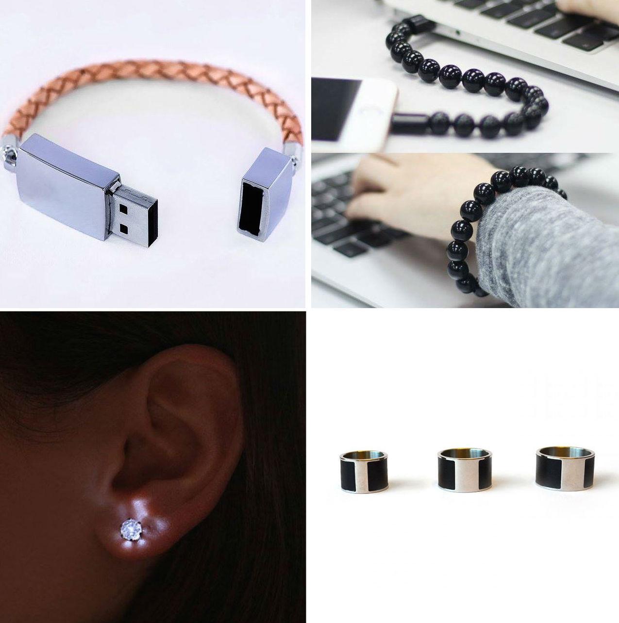Умная бижутерия: кольца, браслеты, серьги и кулоны, которые на что-то способны - 3