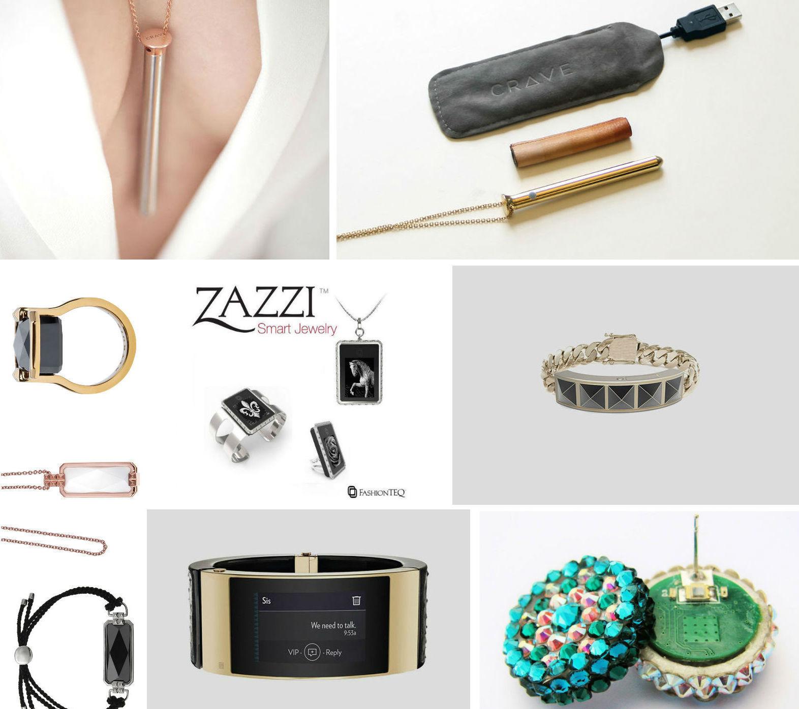 Умная бижутерия: кольца, браслеты, серьги и кулоны, которые на что-то способны - 1