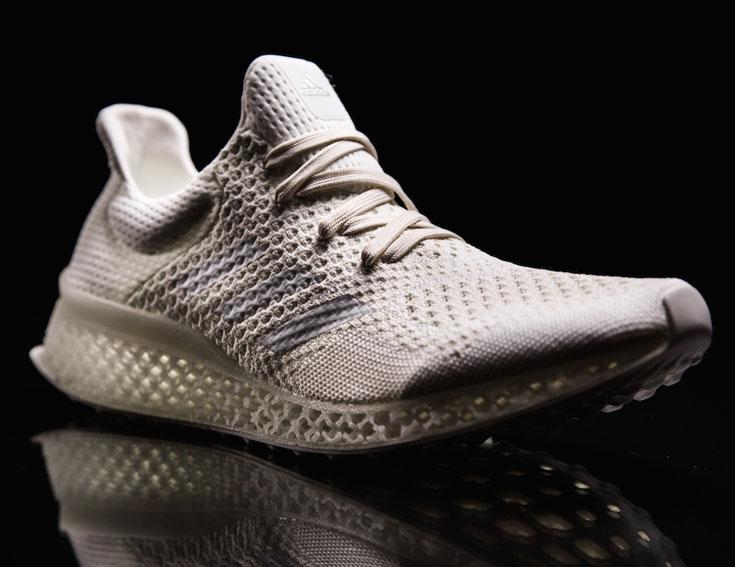 В Adidas намерены в будущем внедрить технологию 3D-печати в коммерческом производстве продукции