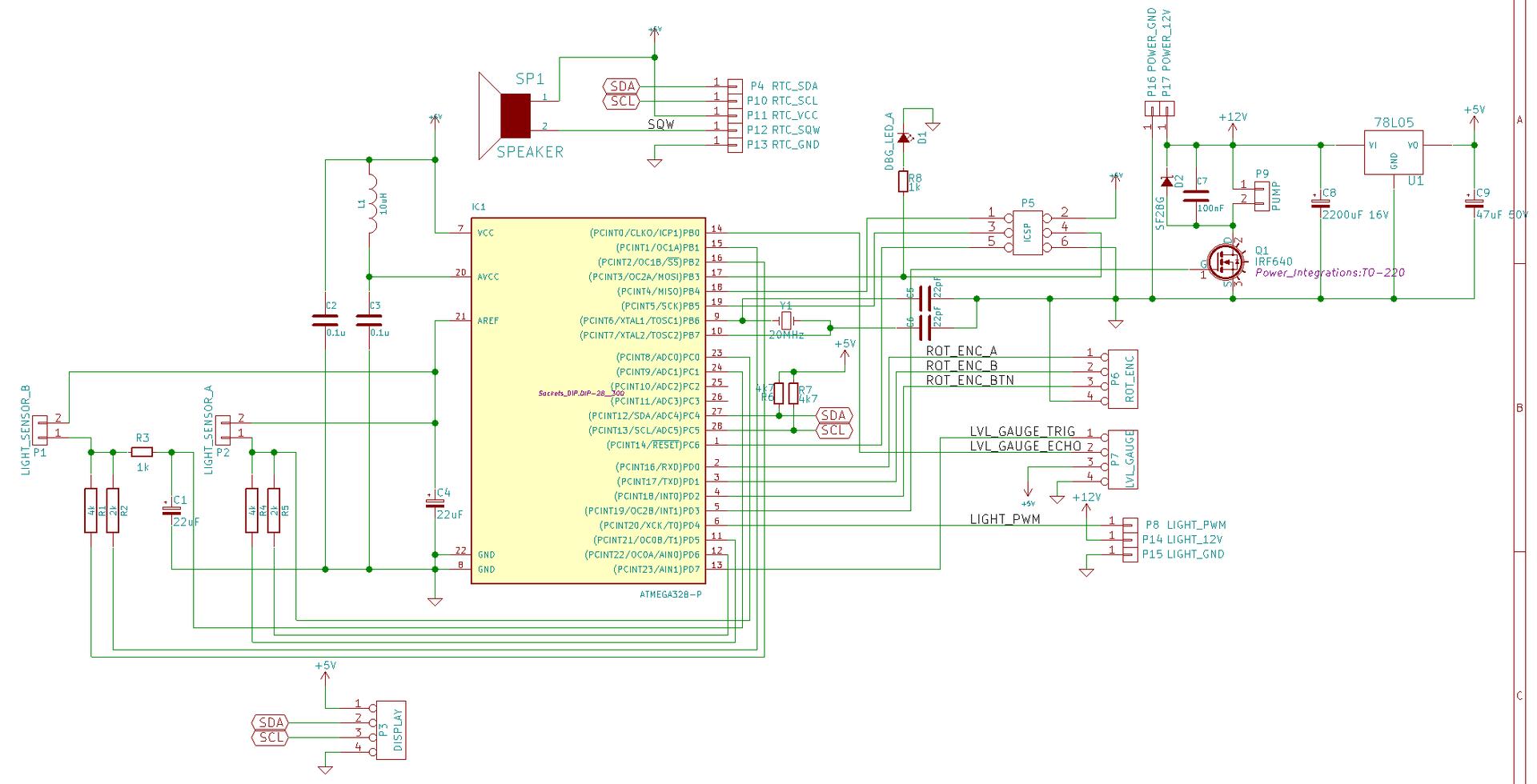 Гидропоника на подоконнике или C++11 в микроконтроллерах AVR - 2