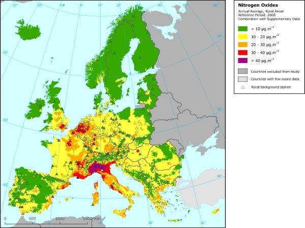 У 97% европейских дизельных автомобилей уровень выброса вредных веществ превышает заявленные нормы - 2