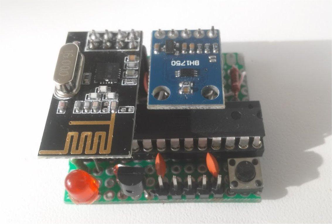 Беспроводный Lighting-Sensor с питанием от CR2450 - 4