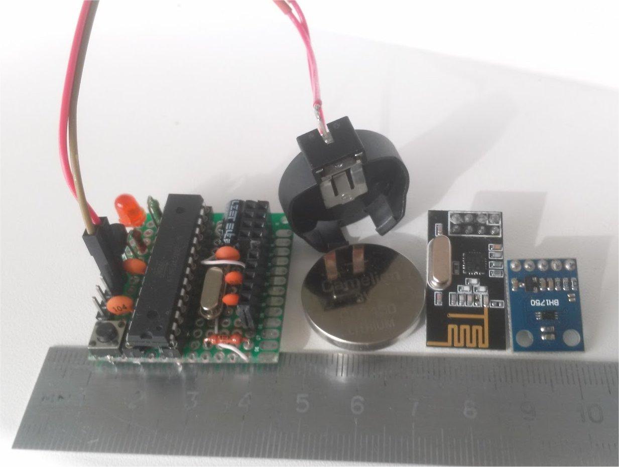 Беспроводный Lighting-Sensor с питанием от CR2450 - 1