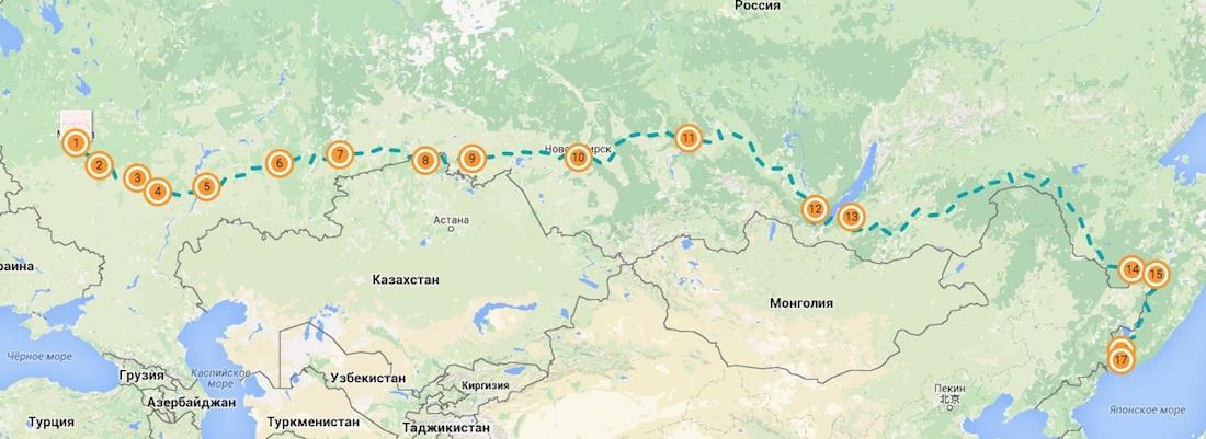 Как мы с Highscreen Power Five проехали автостопом 10 тысяч километров от Москвы до Владивостока - 2