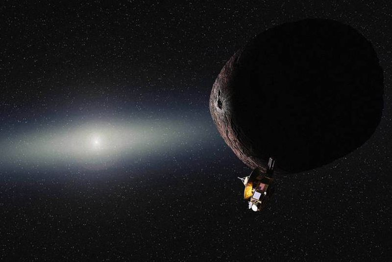 Станция New Horizons прислала снимок малого спутника Плутона Стикса - 3