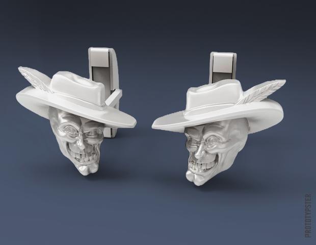 3D-печать для ювелиров: серебряные запонки с героем из любимого фильма - 2