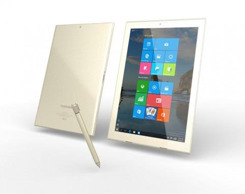Гибридный планшет Toshiba dynaPad получит 12-дюймовый дисплей