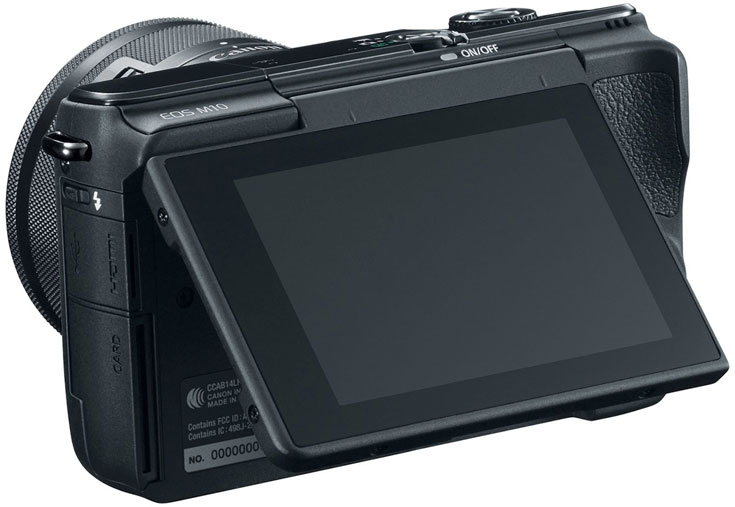 Комплект из камеры Canon EOS M10 и объектива Canon EF-M 15-45mm f/3.5-6.3 IS STM стоит $600