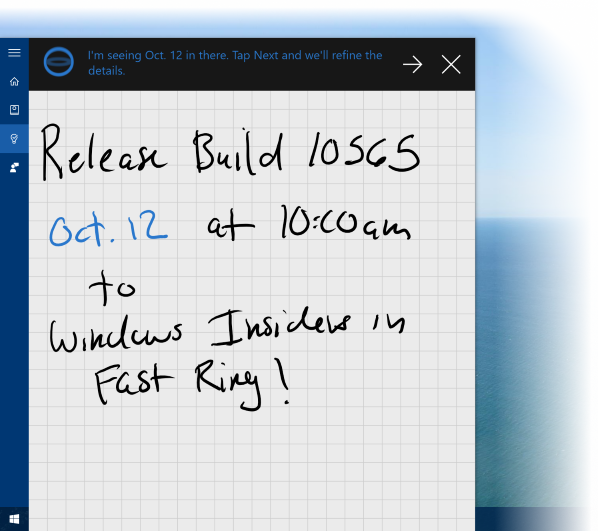 Сборка 10565 для ПК доступна инсайдерам Windows - 1