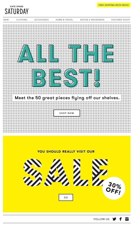 50 лучших дизайнов рассылок (и как самому делать так же круто) (Часть 4) - 4