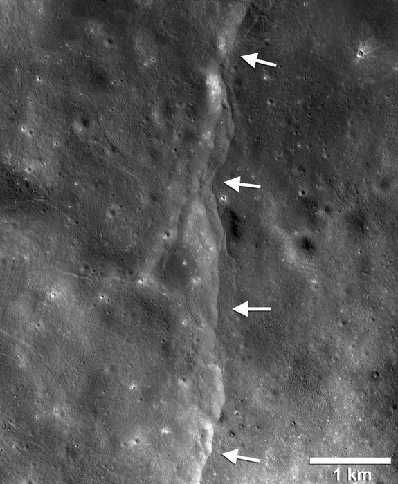 Гравитация Земли ощутимо деформирует поверхность Луны - 1