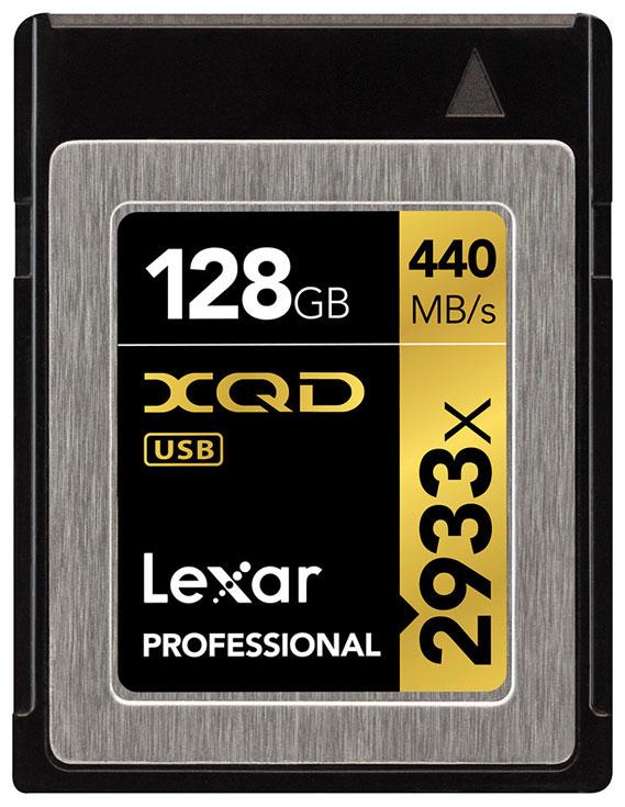 Скорость чтения карты памяти Lexar Professional 2933x XQD 2.0 достигает 440 МБ/с