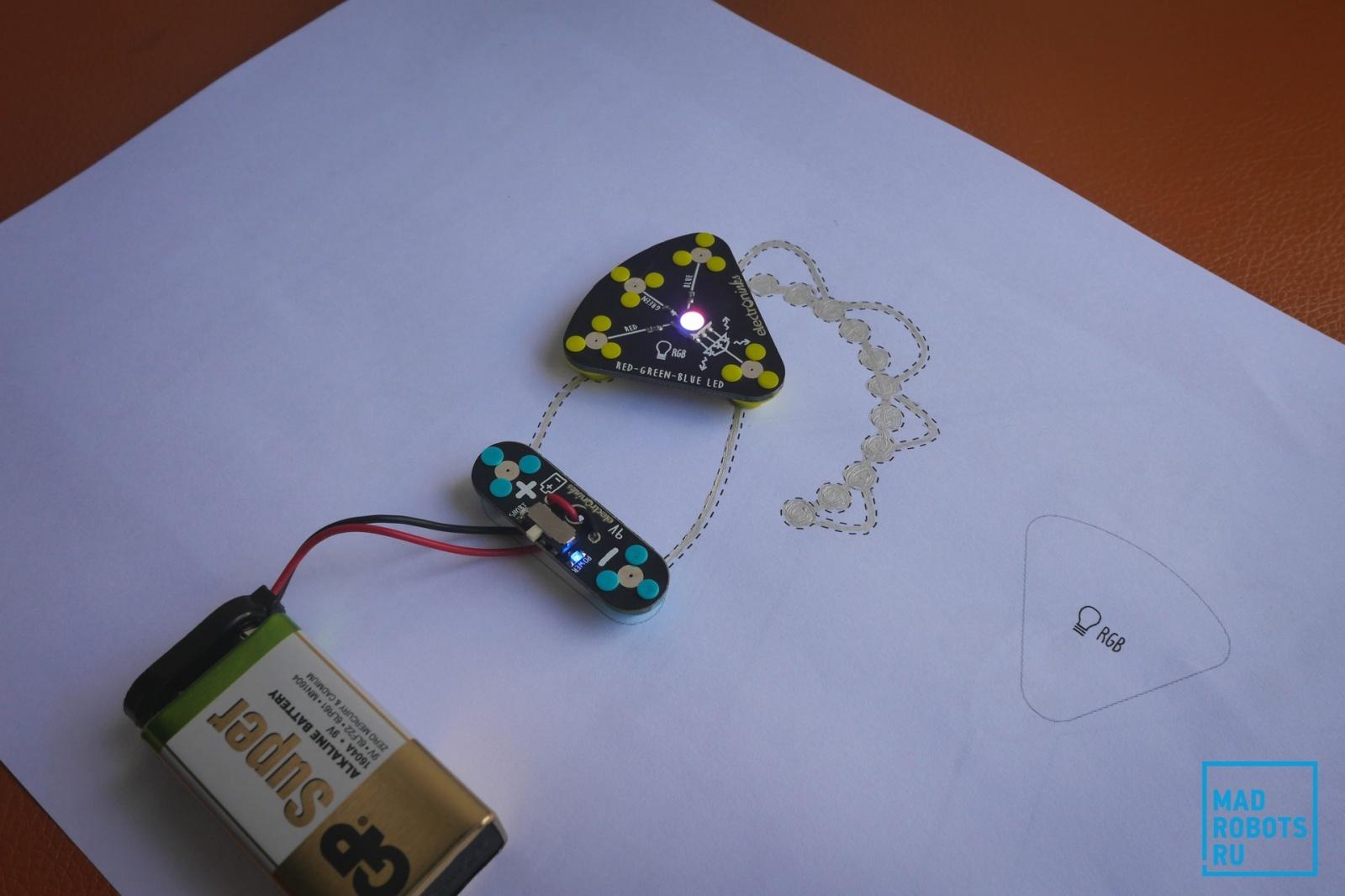 Обзор Circuit Scribe: рисуем электронные схемы без проводов и макетных плат - 19