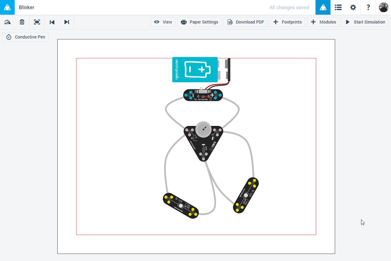 Обзор Circuit Scribe: рисуем электронные схемы без проводов и макетных плат - 20