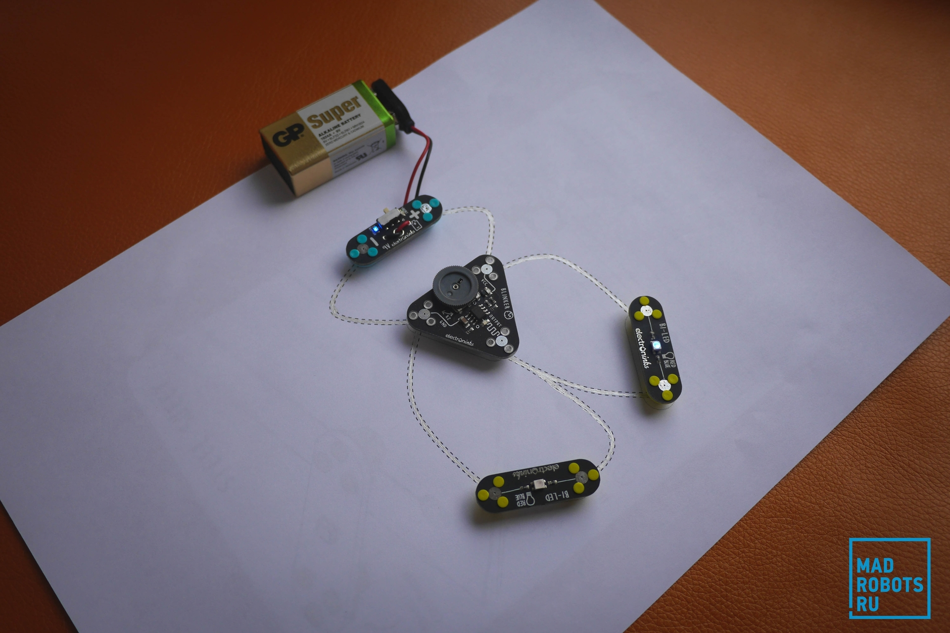 Обзор Circuit Scribe: рисуем электронные схемы без проводов и макетных плат - 21