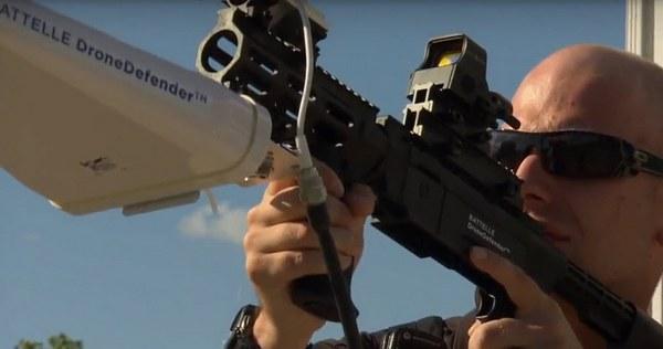 Battelle представила винтовку DroneDefender для устранения дронов