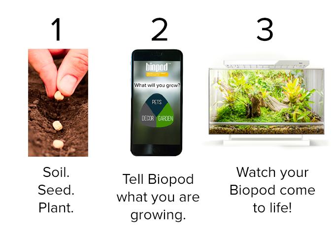 Biopod — умная экосистема в миниатюре с Kickstarter - 2