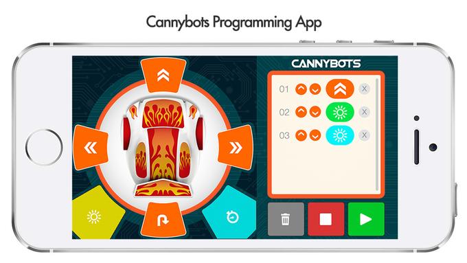 Cannybots: роботы, которые научат детей программировать - 3