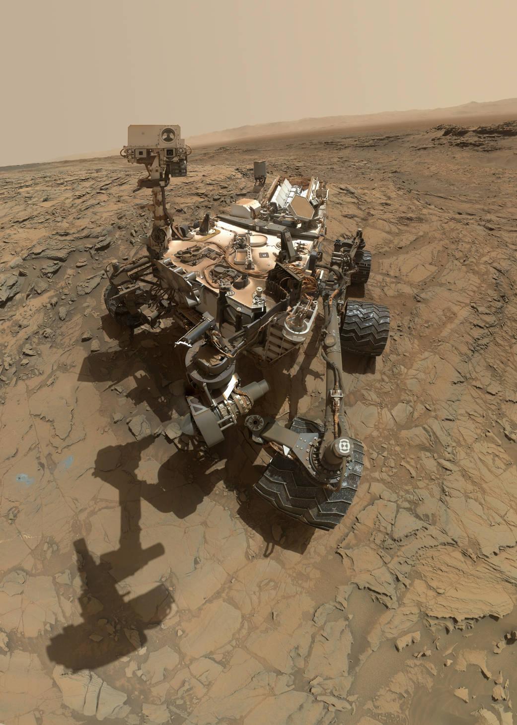 Curiosity сделал очередное селфи - 2