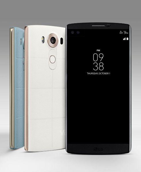 Благодаря сменным крышкам смартфон LG V10 получит поддержку технологии беспроводной зарядки