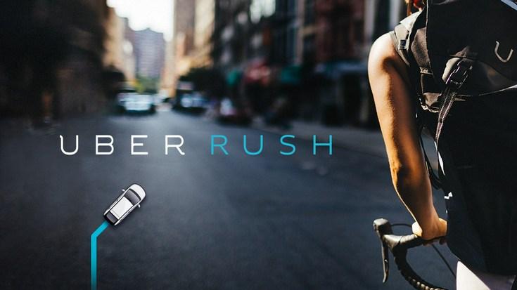 Uber запустила сервис доставки UberRush